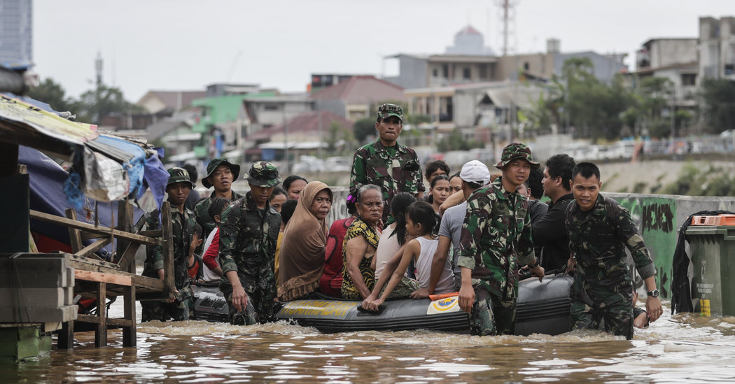 Deadly Flash Floods in Indonesia's Capital Leave Thousands Homeless