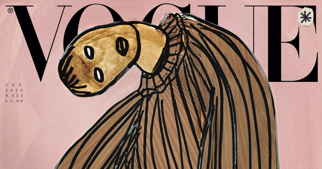 Italian Vogue Won't Publish Photos This Month
