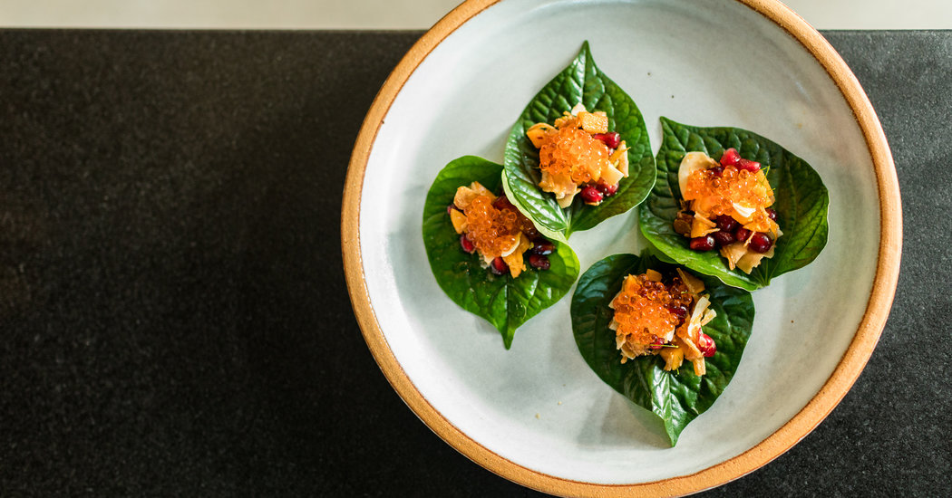At Nari, a Thai Chef Revitalizes Fine Dining