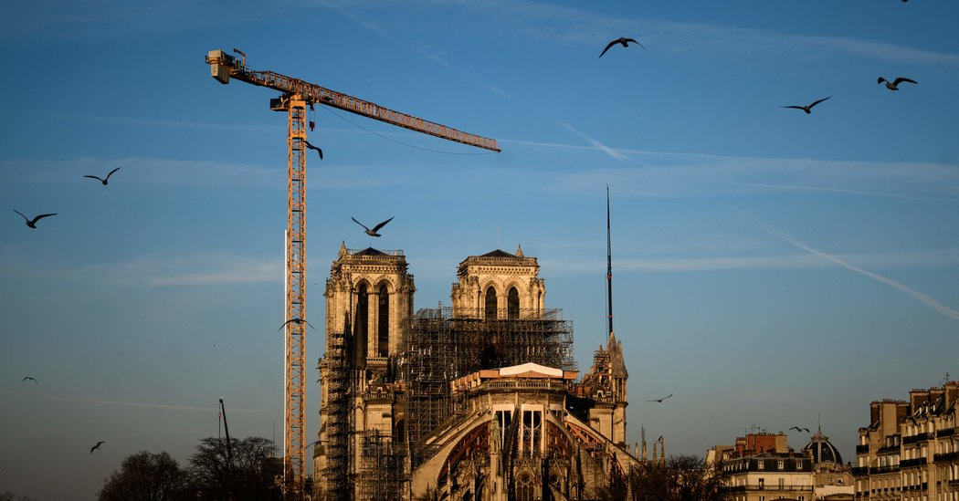 Notre-Dame's Crypt and Square May Reopen in Spring